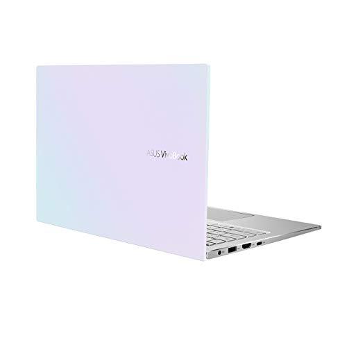 "ASUS VivoBook S13 Thin and Light Laptop, 13.3"" FHD Display, Intel Core i5-1035G1 CPU, 8GB LPDDR4X RAM, 512GB PCIe SSD, Windows 10 Home, Fingerprint Reader, Dreamy White, S333JA-DS51-WH (Renewed)"