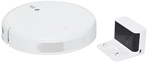 Xiaomi 25012, Vacuum-Mop, Robot Aspira e Lava, vSLAM Mappatura in Tempo Reale, Pianificazione Intelligente del Percorso, Controllo Remoto Via App, Colore Bianco
