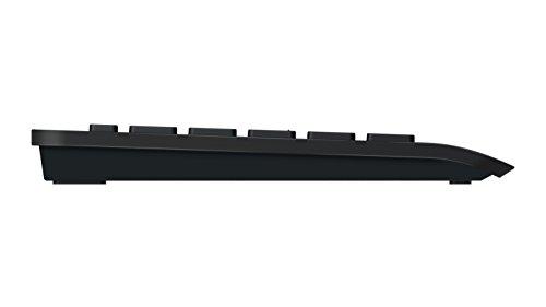Microsoft schnurloses Desktop-Set 900 bestehend aus Tastatur und Maus schwarz