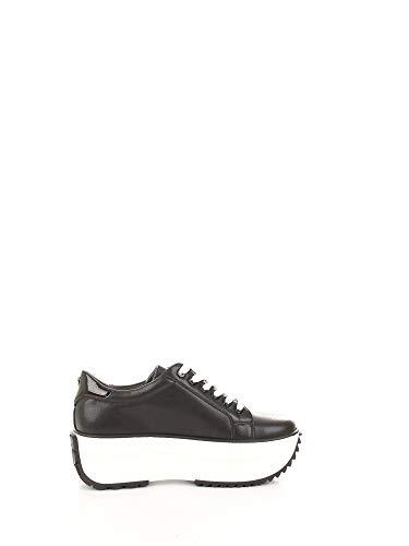 Cult Luxury Fashion Damen CLE104500 Schwarz Leder Sneakers   Frühling Sommer 20