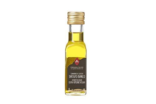 Calugi Condimento al Gusto di Tartufo Bianco a Base di Olio Extra V.O. - 100 ml