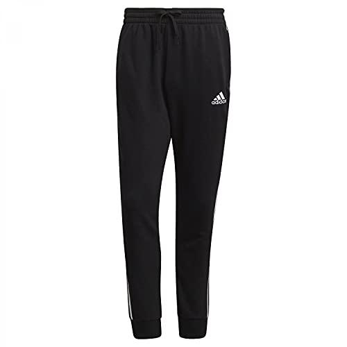 adidas Mens Pants (1/1) M 3S Ft TC Pt, Black/White, GK8831, S EU