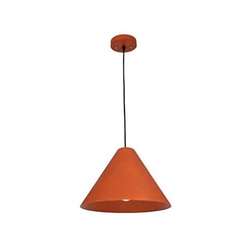 Pointhx Retro Massivholz Pendelleuchte R TA N Kunstdekoration E27 1-Licht Deckenleuchte Eisen Kunst Hängelampe Wohnzimmer Kücheninsel Innenbeleuchtung