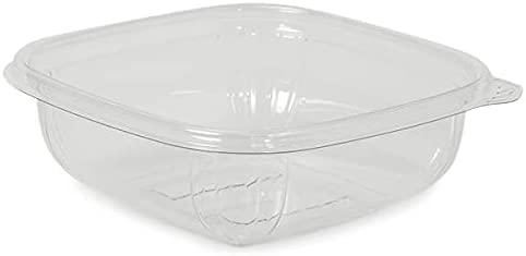 50 Pack Small Genuine 8Oz Clear Bowl OFFicial mail order 5 x Base Pet Recycled