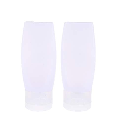 MERIGLARE 5 Pcs Bouchon Bouteille Vide En Plastique Tube De Compression Pour Crème Lotion Cosmétiques - 25g