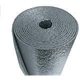 80 sqft Vehicle Car Insulation Heat Sound Deadener Thermal Automotive 1/4 Foam 4ftx20ft.