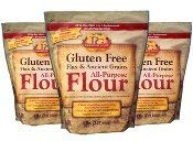 Premium Gold All-Purpose Flour, Flax and Whole Grain, 15 Pounds Made in USA - Kosher Certified by OU Pareve