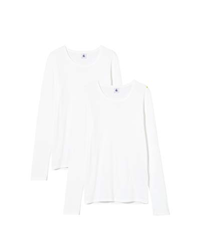 Petit Bateau 5335100 T-Shirt, Blanc (Variante 1 Zga), 16 Ans Girls