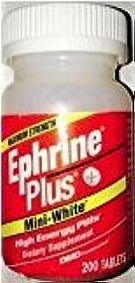 Ephrine Plus Mini-White High Energy Pills 200 Tablets