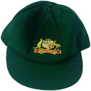 Woolen Australia Australian Baggy Green Cricket Cap Test Match Hat One Size