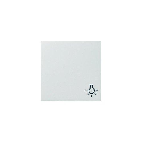 Gira Wippe 028503 Symbol Licht System 55 reinweiss, Weiß