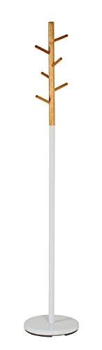 Haku Möbel Cestante de avena - armario de madera en blanco 175 cm