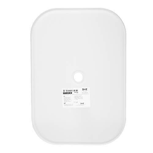 Tapa TROFAST, blanco, tamaño 40 x 28 cm, ventilación y mango de One.