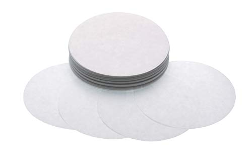 KitchenCraft Home Made Wax Discs for Jam Jars (1 lb), Waxed Paper, Pack of 200
