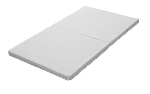 日本製 ベビー敷布団 固綿 二つ折れタイプ ホワイト