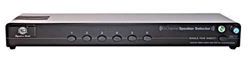 Self Amplified 6 Pair Speaker Selector Switch