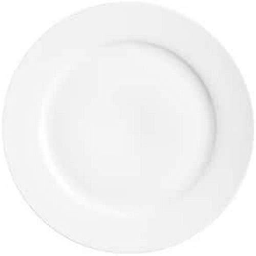 Price and Kensington Simplicity 19Cm Rim Side Plate, Porcelain, White, 19 cm