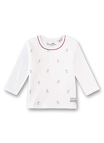 Sanetta Baby-Jungen T-Shirt, Beige (Ivory 1829), 80 (Herstellergröße: 080)