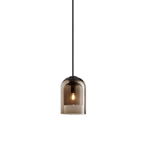 LED plafondlamp hanglamp hanglamp glazen bar slaapkamer creatieve kleine kroonluchter restaurant retro