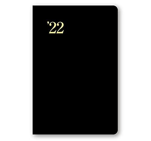 日本能率協会マネジメントセンター NOLTY 手帳 2022年 ウィークリー 能率手帳ゴールド 黒 3121 (2021年 12月始まり)