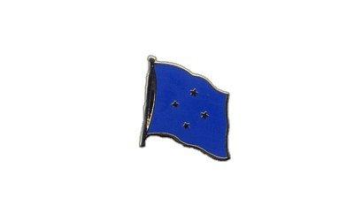 Flaggen-Pin/Anstecker Mikronesien vergoldet