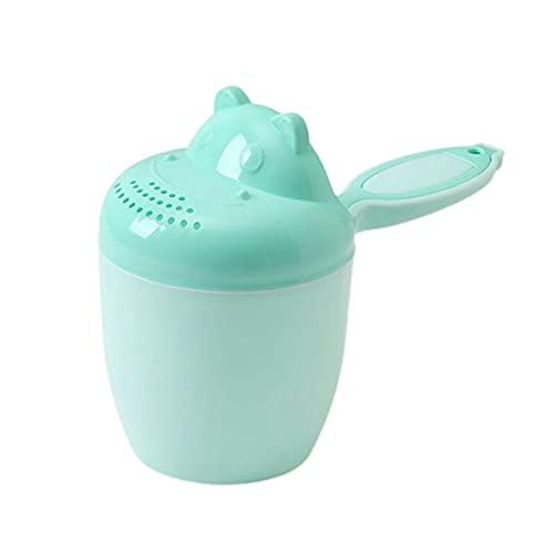 CloverGorge Enjuagadora de Cascada de baño Infantil multifunción, champú para niños, Taza de Enjuague, Cabezal de Lavado de Ducha de baño, cucharas de Ducha para bebés