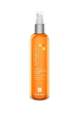 Andalou Naturals, Toner Facial Toner Helps Hydrate Balance Skin pH For Clear Bright Skin, Clementine Plus C, 6 Fl Oz