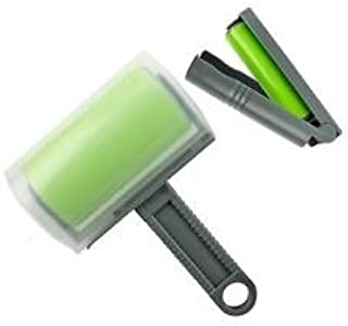 Best Sticky Washable and Reusable Lint and Pet Hair Remover Roller (Set of Two) (Green)