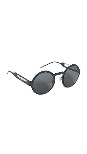 Ray-Ban 0DG2234 Occhiali da sole, Marrone (Matte Black), 51 Donna