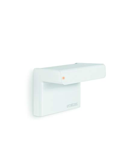 Steinel 066222 Bewegungsmelder iHF 3D weiß, 160° Bewegungssensor, 1-7 m Reichweite, in 3 Richtungen per Bluetooth einstellbar, 2000 W, 230 V
