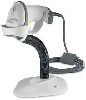 Zebra/Motorola Symbol LS2208 Handheld Barcode Scanner, Includes Stand and USB Cord (White)