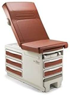 Midmark 204-001 Midmark 204-001 Ritter 204 Manual Examination Table with Seamless Upholstery Top, Standard Model, with Receptacle , Seamless Upholstery Top # 002-0871-231 Navy Color (Each)