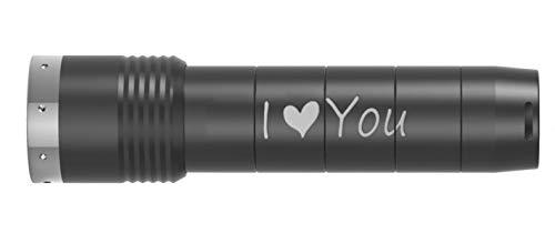Ledlenser MT14 LED-Taschenlampe, für den Außenbereich, personalisierbar Graviert mit Ihrem Wunschtext