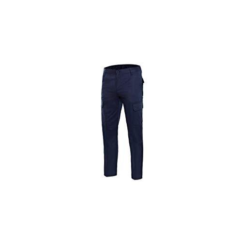 Velilla P1030036138 - Pantalon multibolsillos 100%al