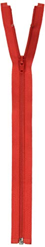"Coats: Thread & Zippers F4814-128A Coil Separating Zipper, 14"", Atom Red"
