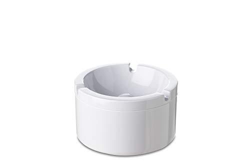 Rosti Mepal - Cenicero con Tapa, Color Blanco