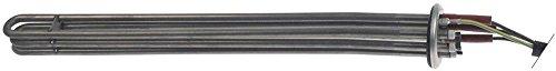 Winterhalter Heizkörper für Boiler Anschlusslänge 40mm Befestigung Rundflansch Breite 32mm Einbau 47,5mm 3 Heizkreise 9000W