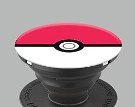 Pokeball Phone Holder/Grips (Black)