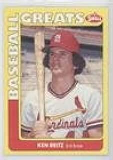 Ken Reitz (Baseball Card) 1991 Swell Baseball Greats - [Base] #119