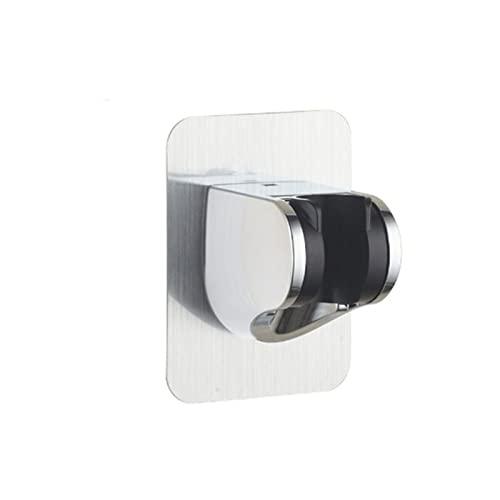HYDAA Soporte de Cabezal de Ducha, Soporte de Ducha montado en Pared Autoadhesivo Accesorio de baño de 7 velocidades Soporte de Ducha Ajustable de 7 velocidades fáciles de Usar 1019
