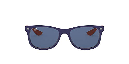 Ray-Ban Unisex - Kinder Sonnenbrille 9052S, Gr. One Size, Blau/Orange