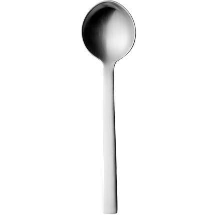 Acero Inoxidable Georg Jensen GJ 070394/afredo Cestillo para el Pan peque/ño 21,3/x 21,3/x 8,5/cm Stainless Steel