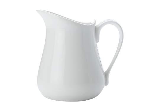 Maxwell & Williams MWAA023 White Basics Milchkännchen/Sauciere mit Henkel, porzellan