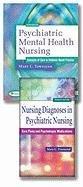 Package of Psychiatric Mental Health Nursing 6th & Nursing Diagnoses in Psychiatric Nursing 7th
