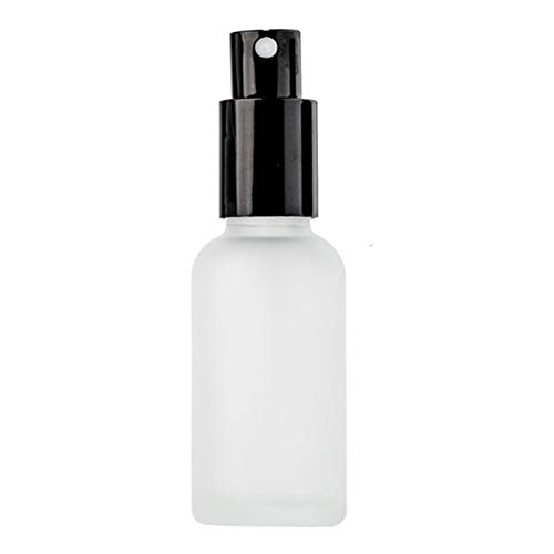 Spray Bottle, Cecoe Portable Fine Mist Household Safety Non-toxic Frosted Glass Spray Bottle is Very Suitable for Cleaning/Bathroom (25×81MM)
