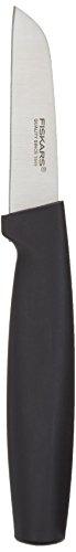 Fiskars Schälmesser, Gerade Klinge, Länge: 19 cm, Qualitätsstahl/Kunststoff, Functional Form, 1019474