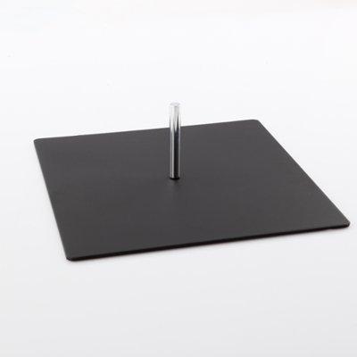 DRUCKUNDSO (Zubehör) Bodenplatte für Beachflag, schwarz, 4,7 kg, Fahne, Halter
