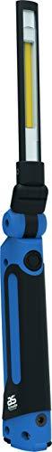 as - Schwabe accu werklamp - professionele inspectielamp met magnetische voet - oplaadbare werkplaatsspot - mobiele LED lamp voor binnen- en buitenverlichting - IP30 - zwart, blauw I 42824
