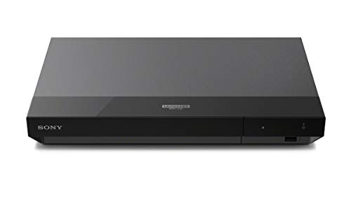 Sony UBP-X500 Lettore Blu-Ray 4K HDR, Hi-Res Audio, USB, Ethernet, Nero