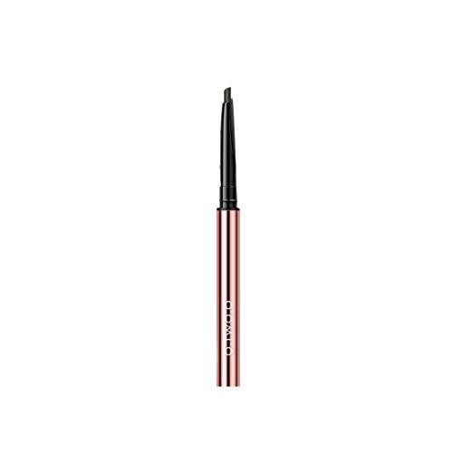 Eyeliner Wasserdichter flüssiger Eyeliner-Stift Dual-Use-Doppelkopf-Concealer Beige Black, Nicht verschmierter Eyeliner-Augenbrauenstift B
